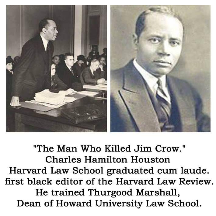 Charles Hamilton Houston  - harvard law school resume