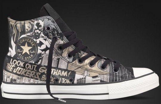 6f2cb766694 Converse x DC Comics Holiday 2011 - Chuck Taylor All Star Collection -  Batman
