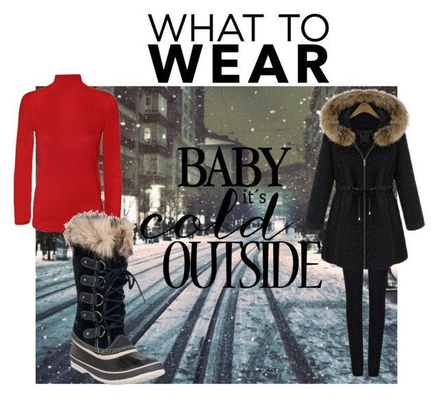 """""""What to Wear : Cold"""" by herojohnson on Polyvore featuring Giorgio Armani, WearAll and SOREL"""