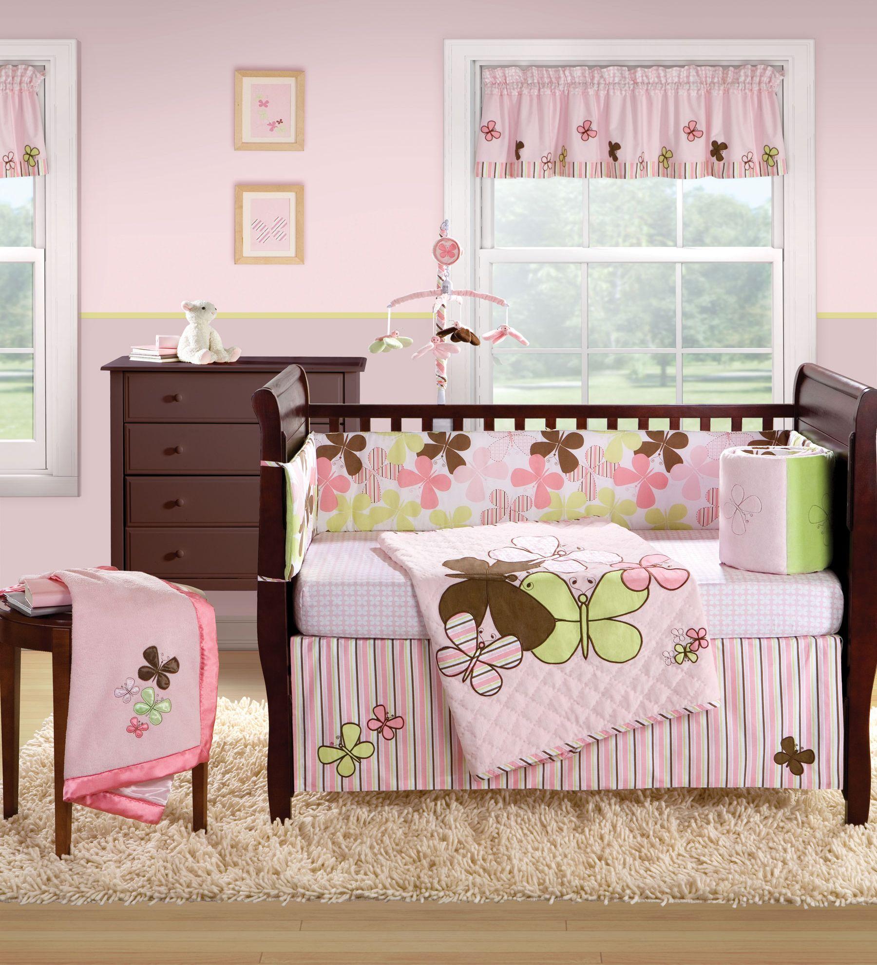 Banana Fish Mod Erfly Baby Crib Bedding Set And Nursery Accessory Items Free Shipping