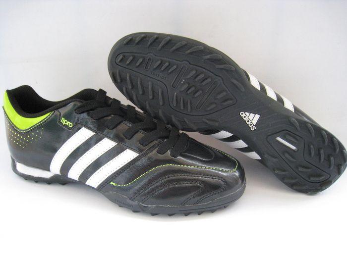 4dde6c56ec2 Adidas adiPure V Kaka 11Questra TRX Turf IC indoor - Black White Yellow. Adidas  Adipure 11Pro TF Black White Green Half Off Nikes