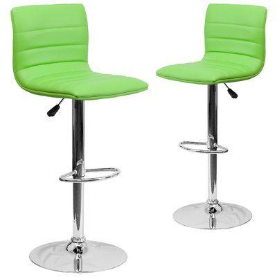 Wondrous Wrought Studio Ben Adjustable Height Swivel Bar Stool Pabps2019 Chair Design Images Pabps2019Com