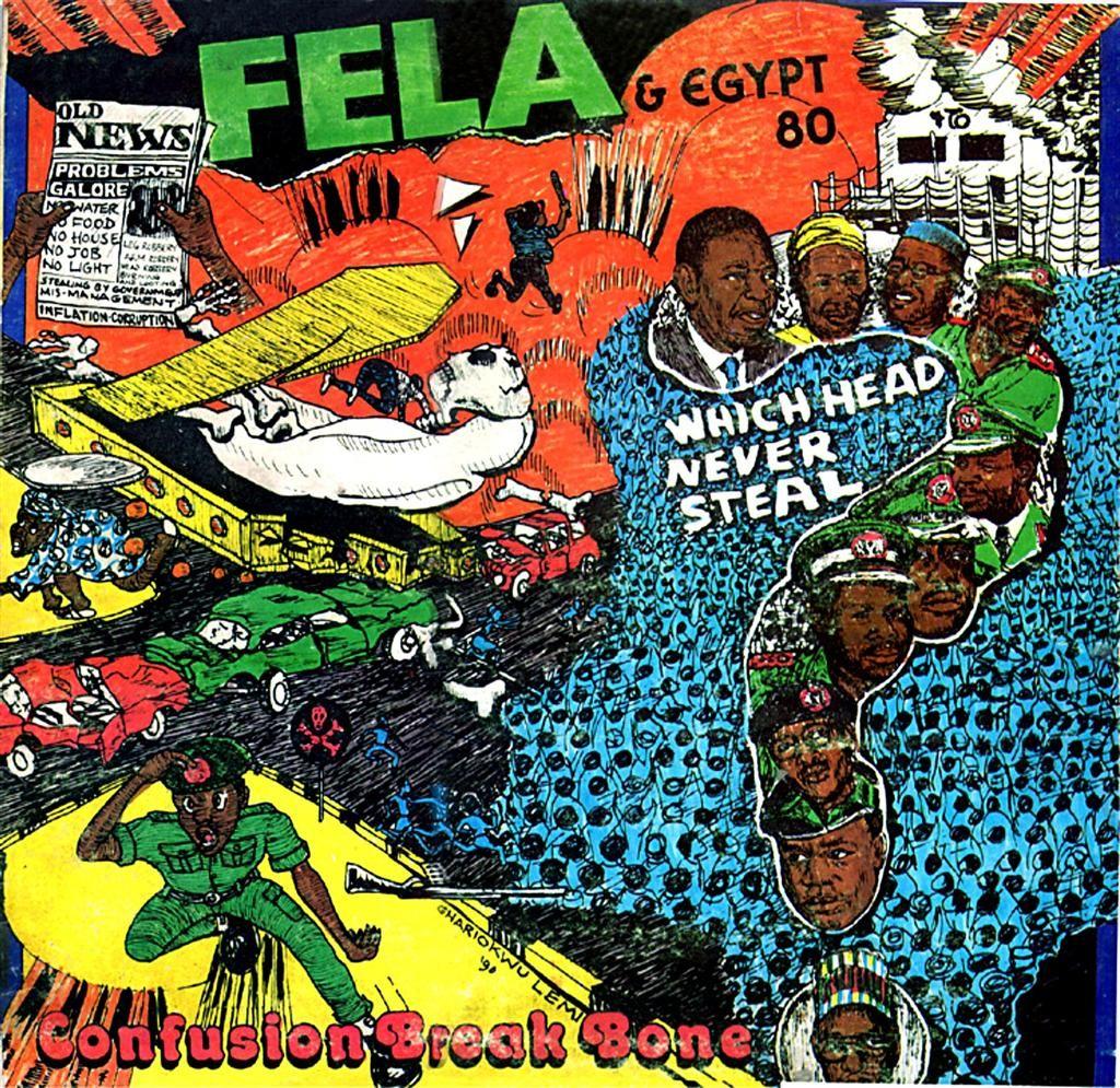 Fela Kuti Confusion Break Bone By Lemi Ghariokw Album Art