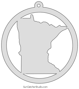 Minnesota Map Outline Printable State Shape Stencil Pattern In 2020 Scroll Saw Pattern Map Outline Stencils