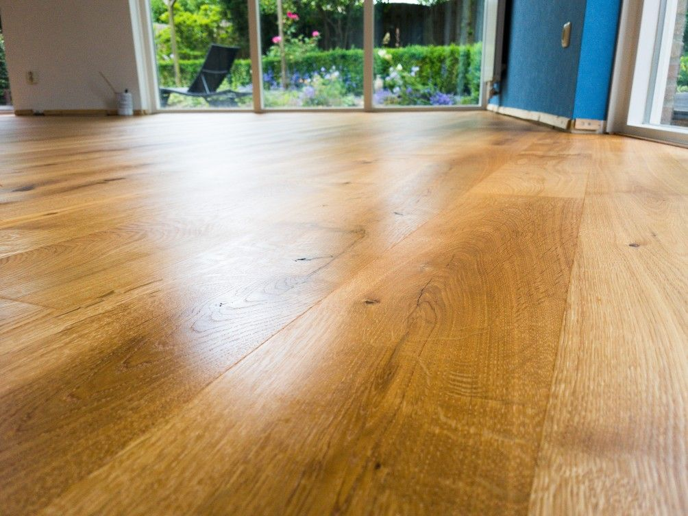 Eiken vloer geschuurd geolied vloerinspiratie houten vloeren