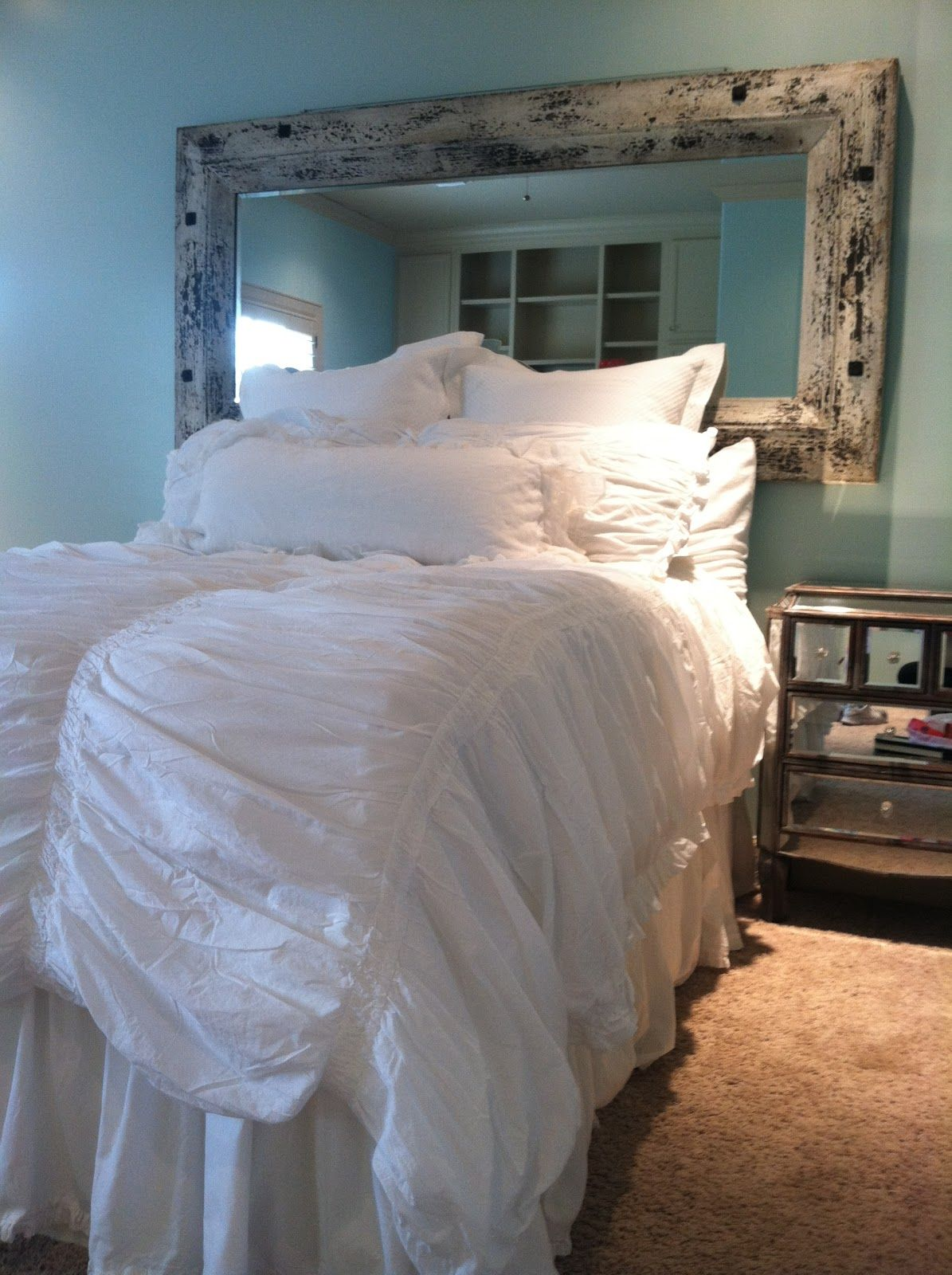 Comfy Fluffy White Bed With Target Bedding My New