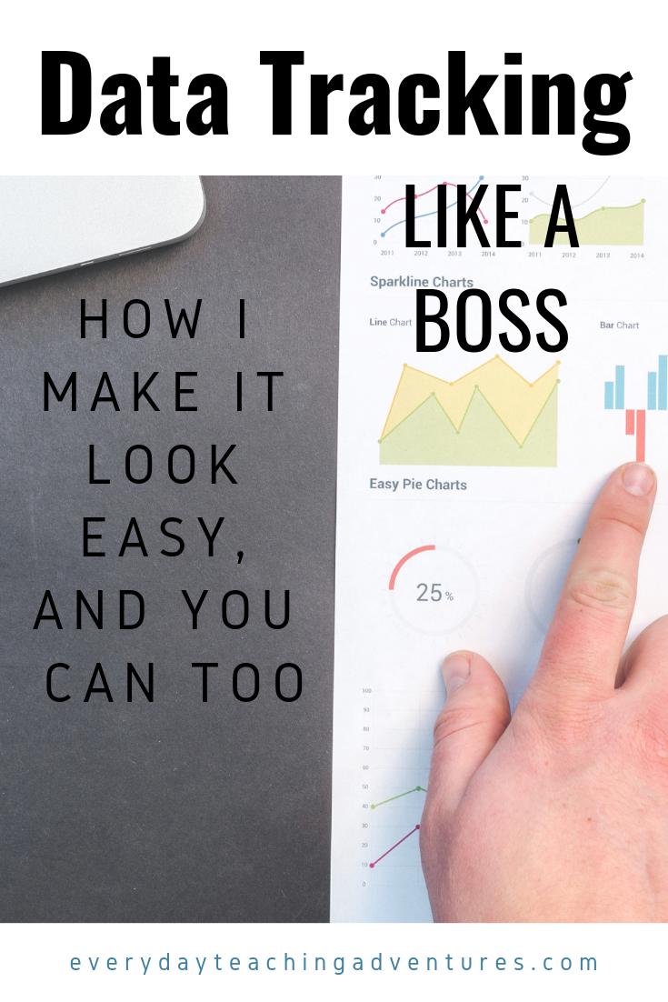 Data Tracking Like A Boss Data Tracking Progress Monitoring Reading Teaching Adventure [ 1102 x 735 Pixel ]