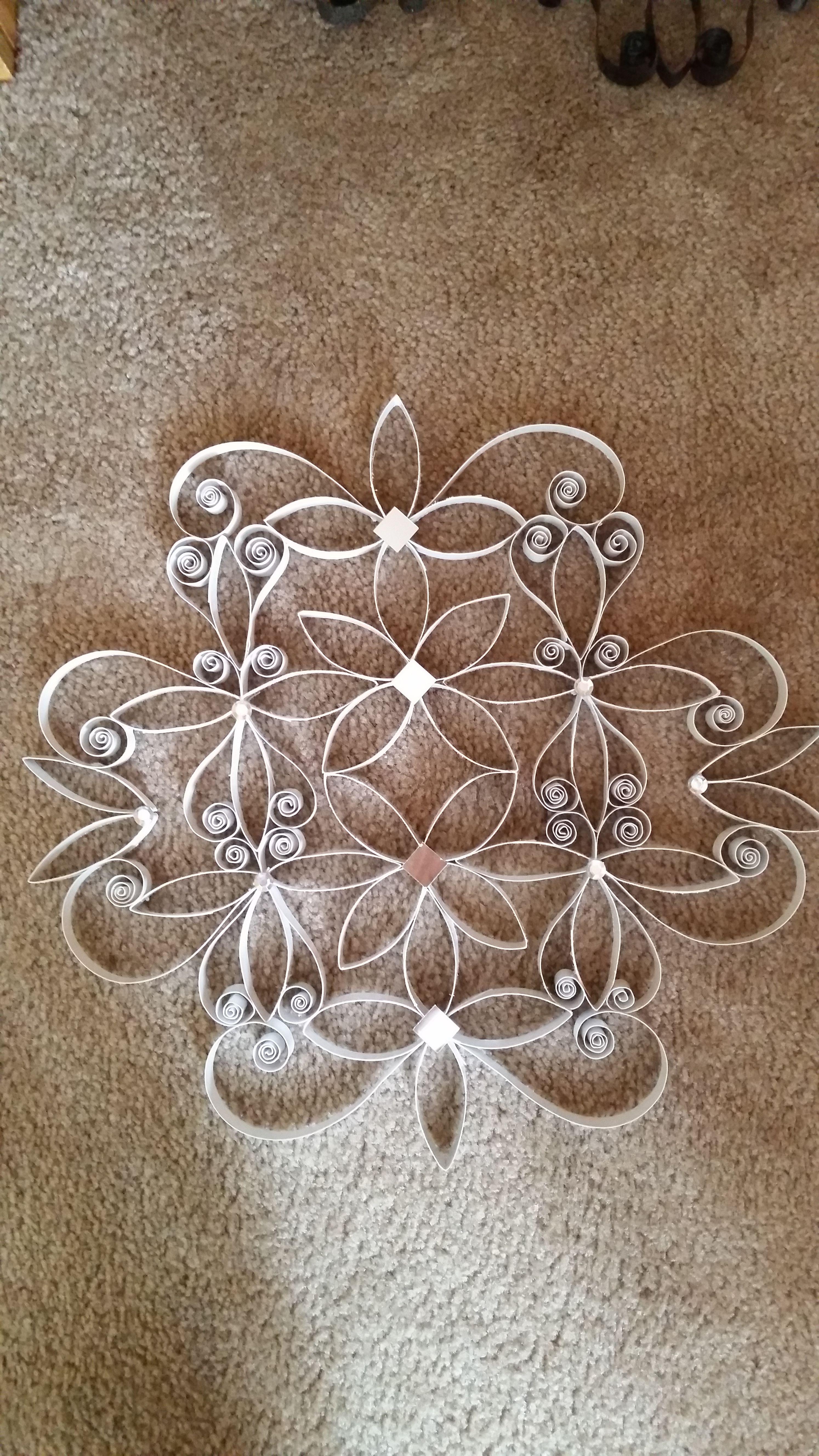 Paper Towel Roll Wall Art