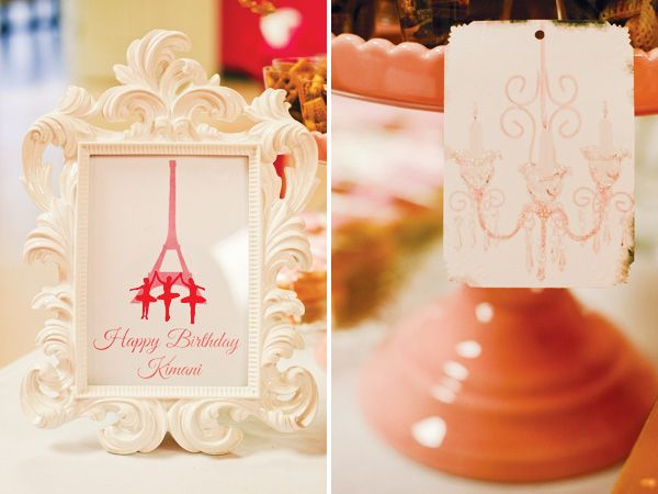 Ballerina in Paris Birthday Party // Hostess with the Mostess®