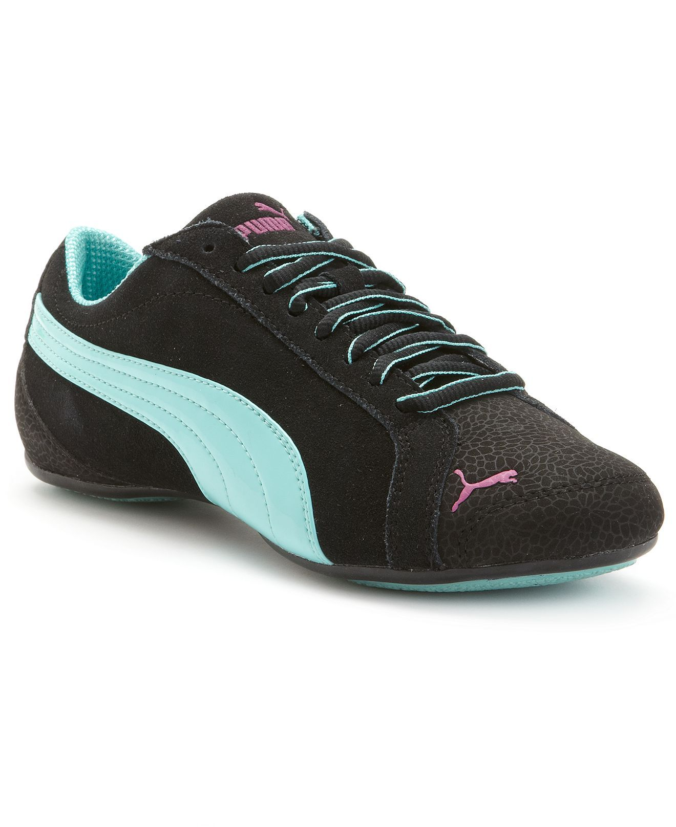 Details about puma womens suede classic rg black running shoes - Puma Women S Shoes Janine Dance Flower Sneakers Sneakers Shoes Macy S