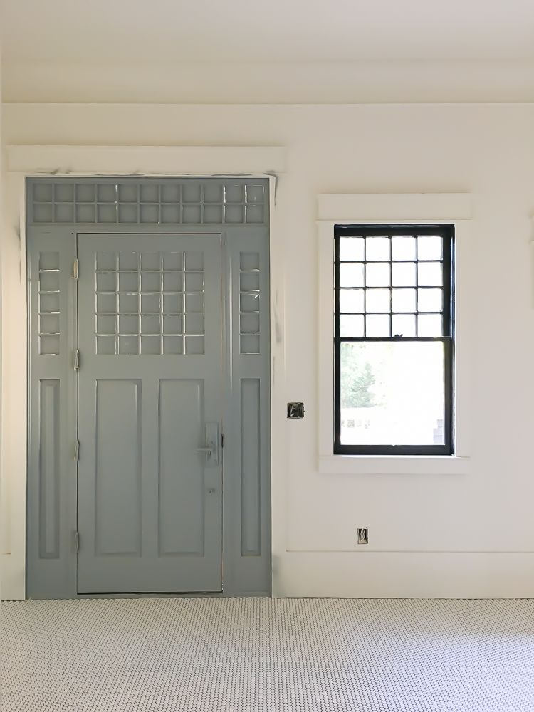 Farmhouse Trim Around Doors