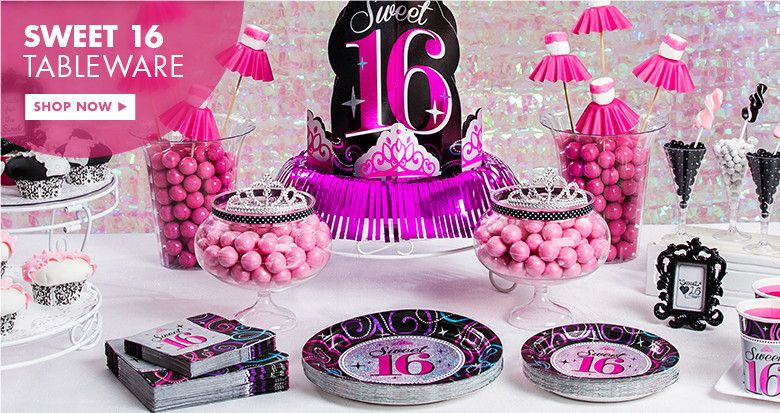 16th Birthday Party Supplies