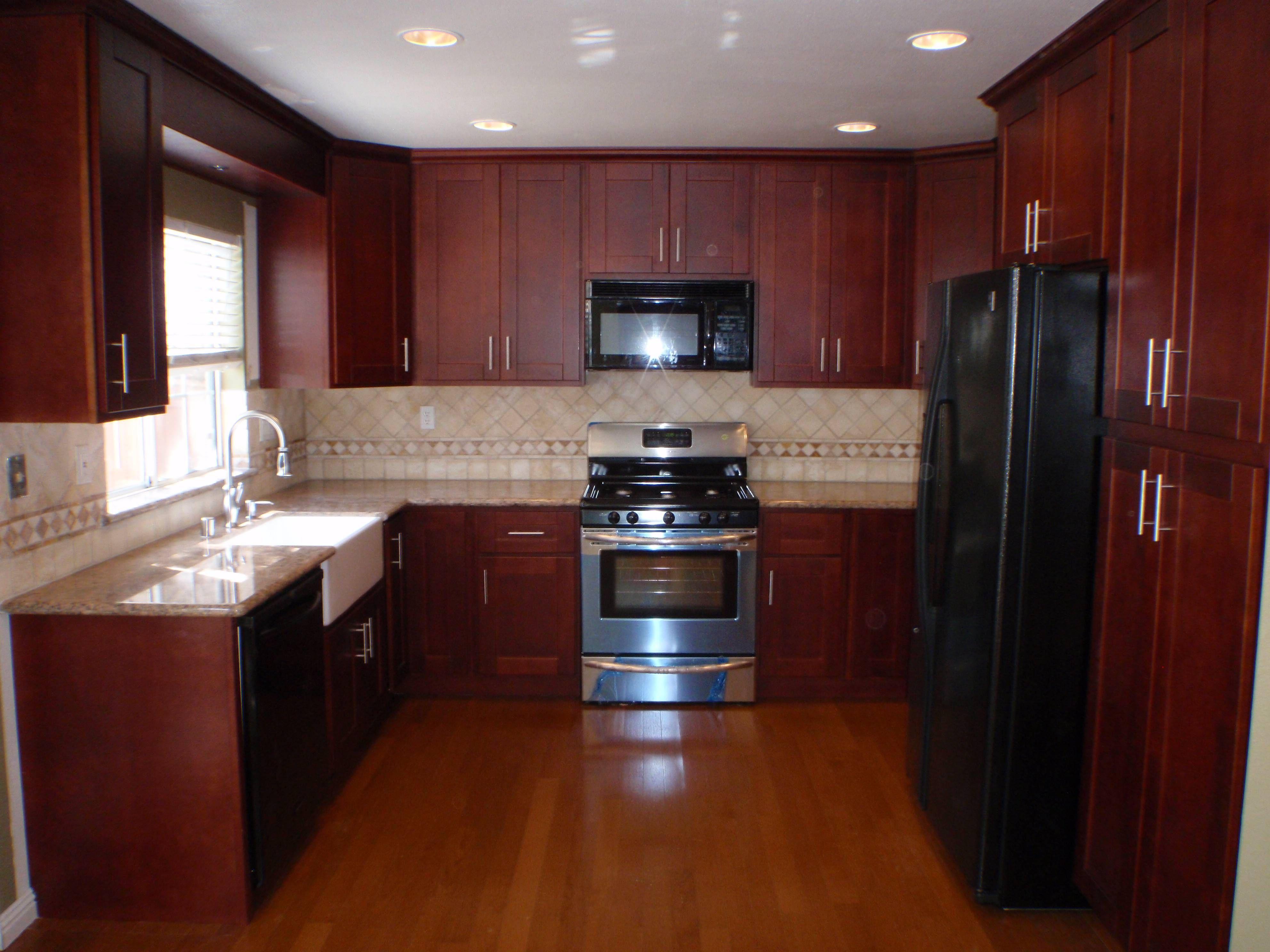 Sears Quartz Kitchen Countertops | Shaker kitchen cabinets ...