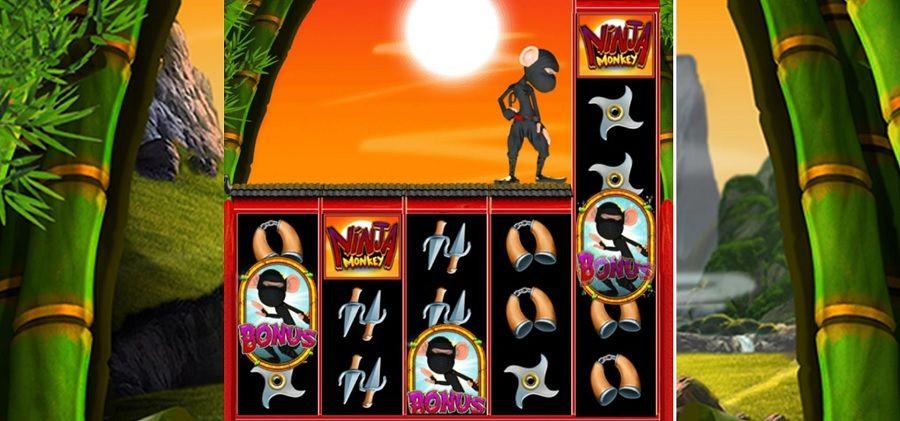 Ninja Monkey Slot Machine