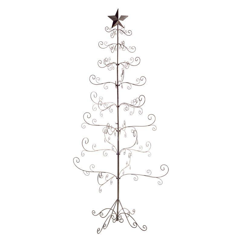 Wire Tabletop Christmas Tree