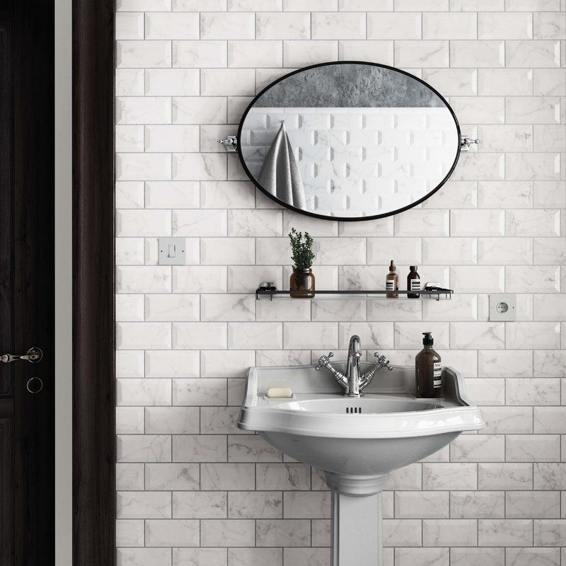 Karra Carrara 3 Quot X 6 Quot Subway Tile In White Marble In 2019