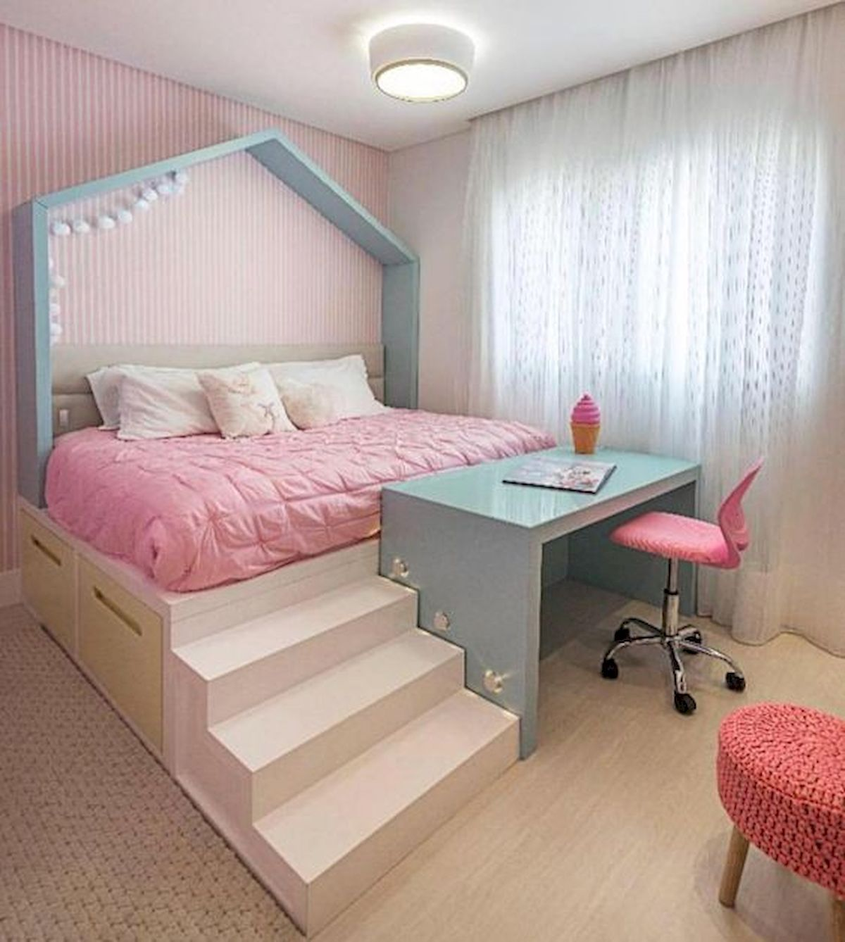 Adorable Nursery Idea: 33 Adorable Nursery Room Ideas For Baby Girl