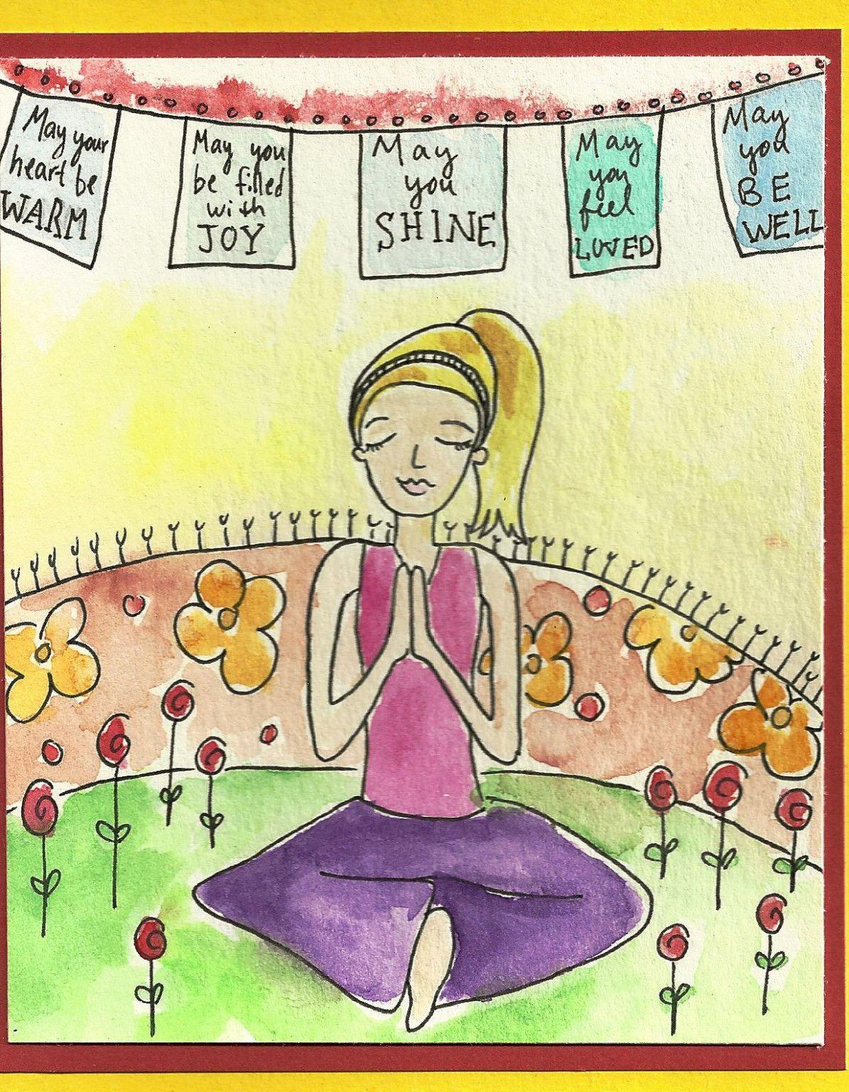 11 Custom Yoga Happy Birthday Card Alles Gute Zum Geburtstag Karten Geburtstag Wunsche Herzliche Geburtstagswunsche