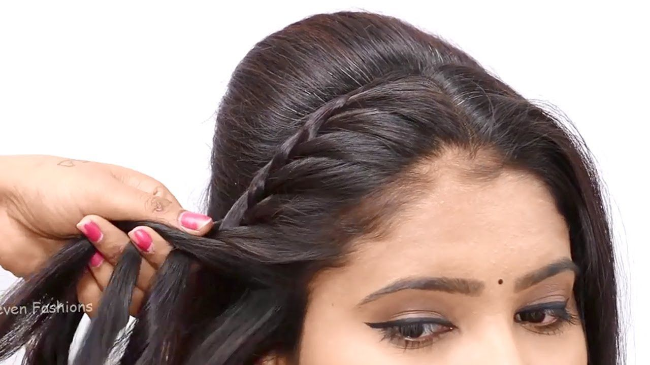 3 Easy Hairstyles For Wedding Juda Hairstyle New Hairstyle For Gir In 2020 Wedding Hairstyles For Girls Hair Styles Easy Hairstyles