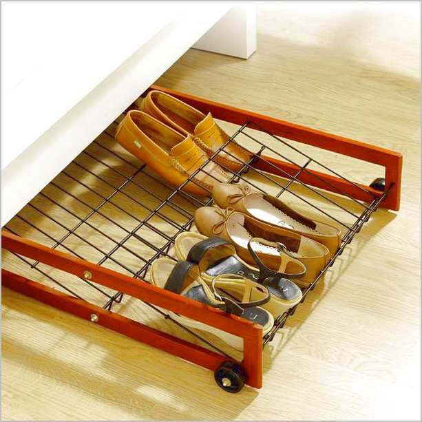 Under Bed Shoe Organizer Wheels Home Design Remodeling Ideas