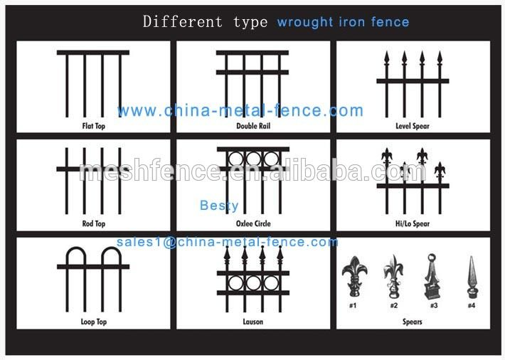 Fixable U0026 Anti Rust Aluminum Cast Iron Fence Parts/ Holland Garden Fencing/villa  Fence(17years Factory)   Buy Villa Fence,Holland Garden Fencing,Small ...