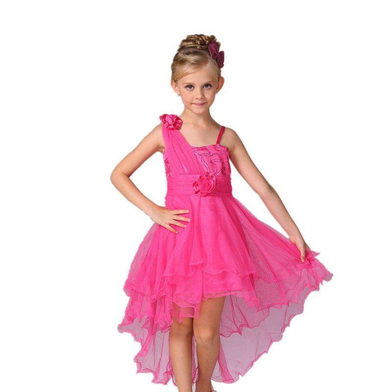 2016 Nuevo vestido De fiesta de Navidad vestido de niña para la boda ...