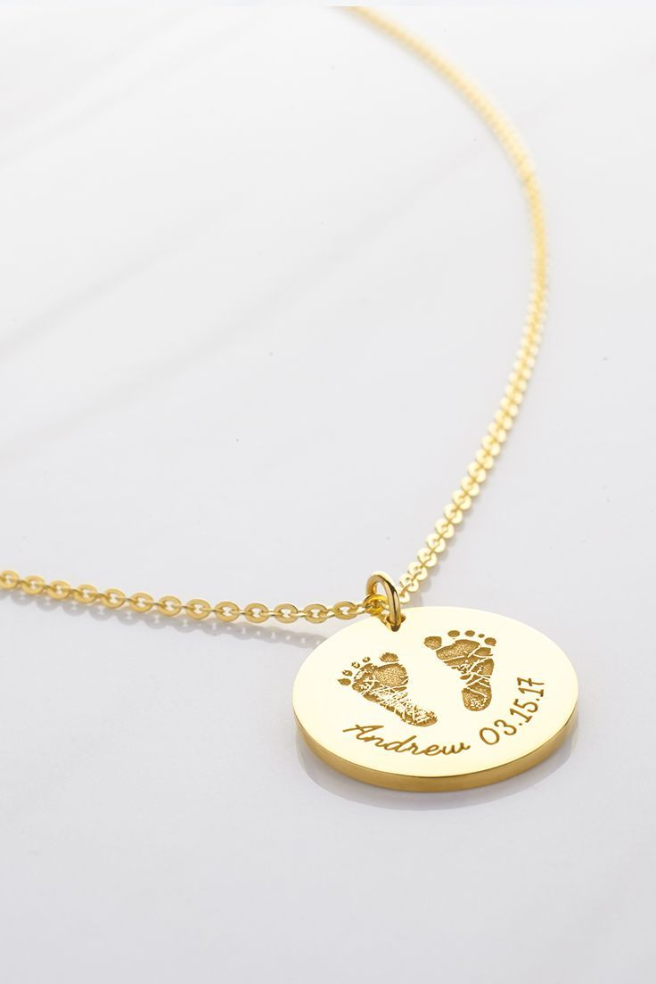 New Baby Necklace Mom Necklace New Mom Gift Baby Birth Gift Child Pendant Boy Girl Necklace Mother Day Gift Grandmother Necklace