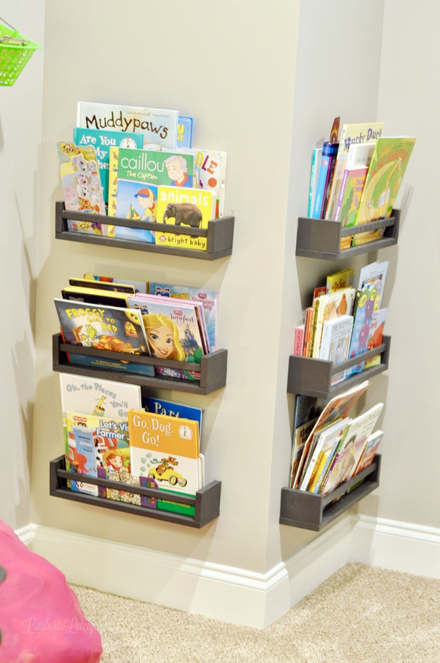 How We Organized Our Small Playroom | Lamberts Lately