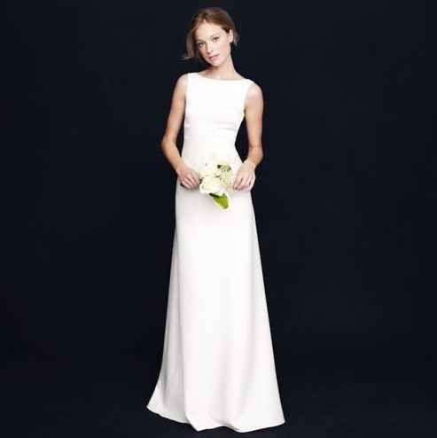 J Crew Percy Gown 650 Casual Wedding Dress Formal Dresses For Weddings Size 12 Wedding Dress
