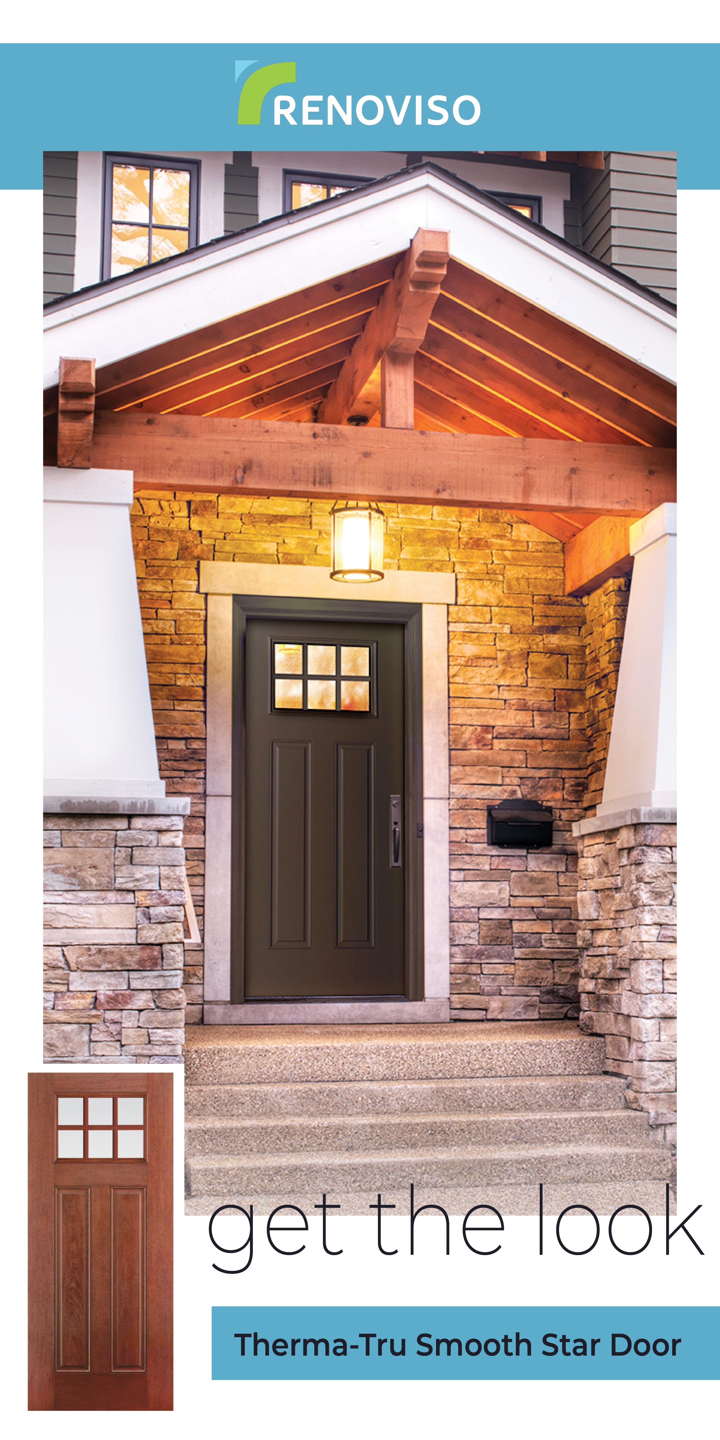 This craftsman front entrance exudes elegance thanks to the gorgeous