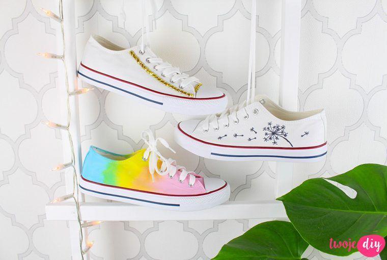 Jak Odmienic Trampki Do Szkoly 3 Sposoby Na Biale Trampki Twoje Diy Diy Shoes Adidas Sneakers Shoes