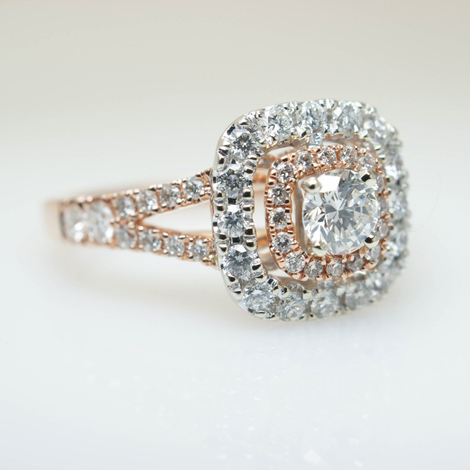 img natural custom rose australia online rings products engagement diamond morganite ring gold