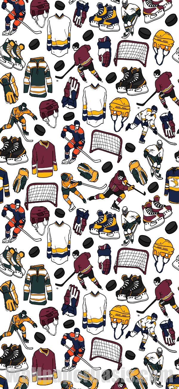 Iphone Wallpaper Floral Hintergrundbildiphone Tapete In 2020 Nhl Wallpaper Hockey Hockey Girls
