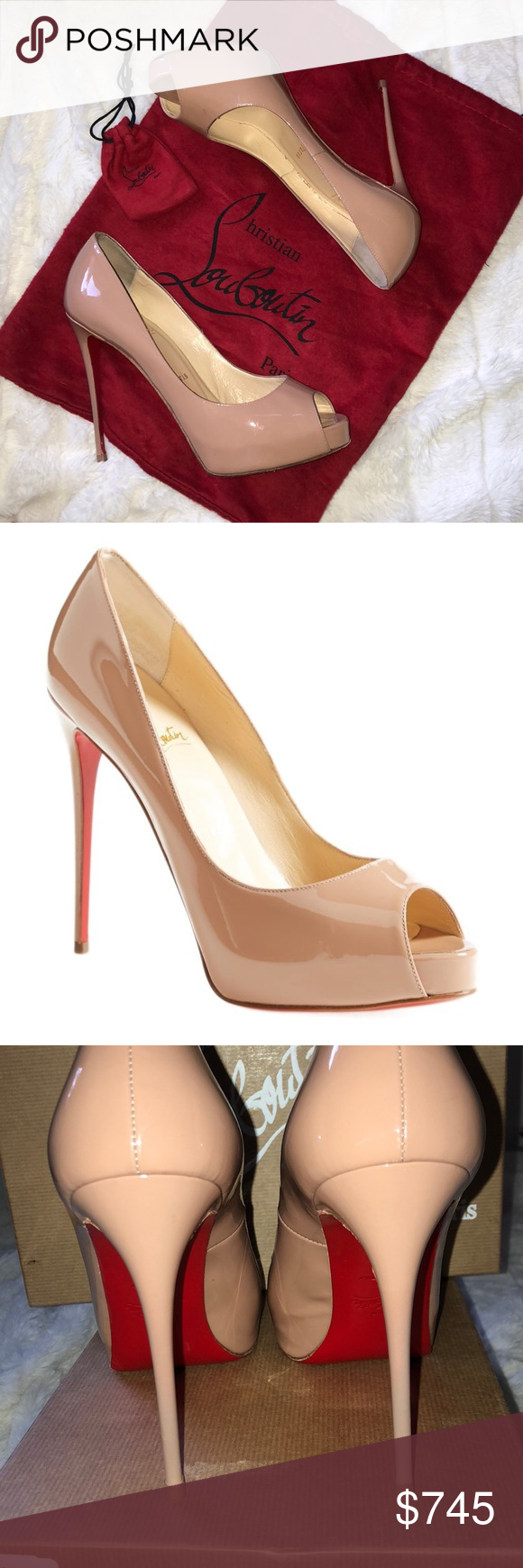 competitive price 8dc4d 6bcf6 AUTHENTIC-LOUBOUTIN-New Very Prive 100% AUTHENTIC CHRISTIAN ...