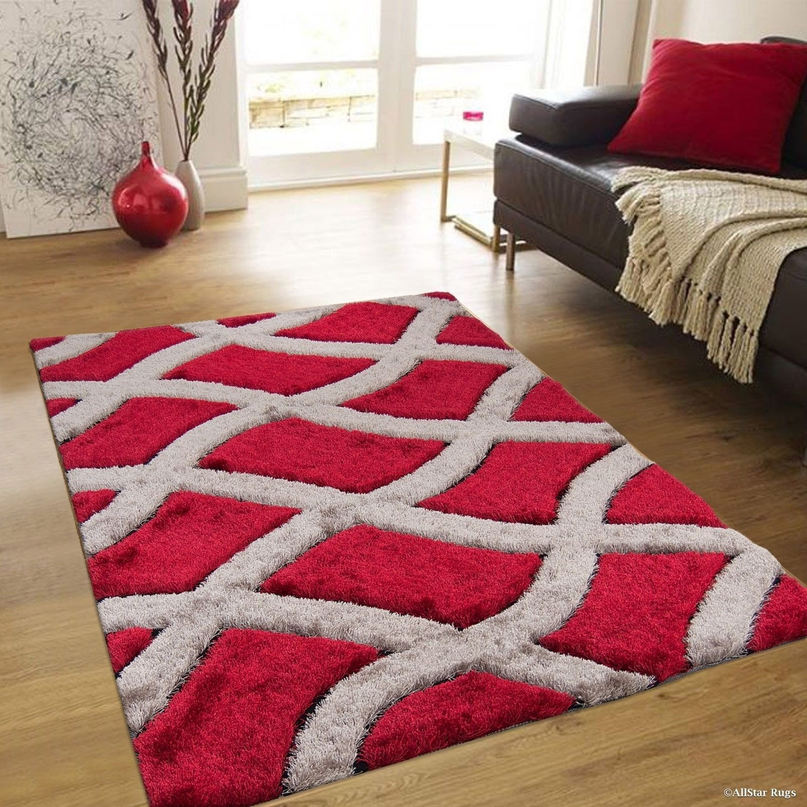 Overstock Com Online Shopping Bedding Furniture Electronics Jewelry Clothing More In 2020 High Pile Rug Modern Trellis Design Rugs