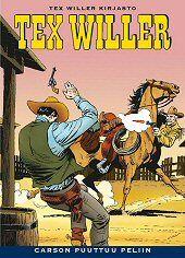 Kansi: Tex Willer -kirjasto 11 - Carson puuttuu peliin