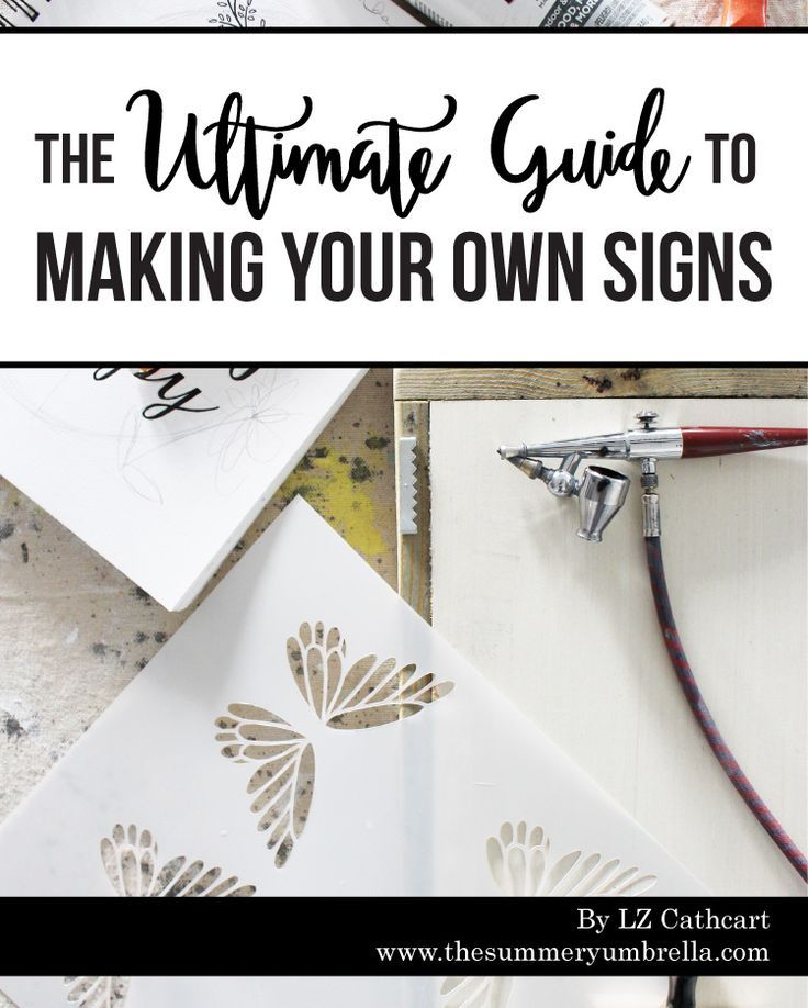 """INCLUDES: 170 pages, 27 techniques, 35 projects, and 46 video tutorials (which include over 2+ hours of instructions).   Discover where a professional sign maker """"shops"""" for raw materials, a time-saving technique that leaves a perfect finish every time, and the one tool no sign maker should be without."""