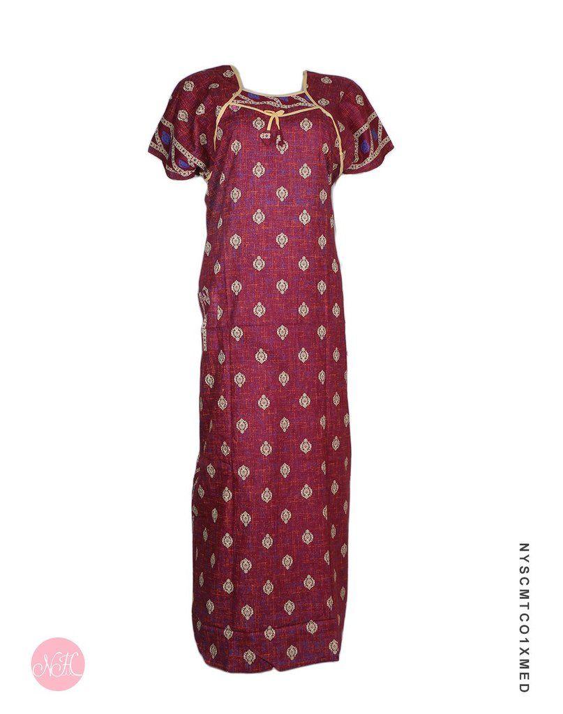 7b0163366f  nightdress  nightwear  nighty  nighties  nightsuit  sleepwear  relaxwear  Buy Designer