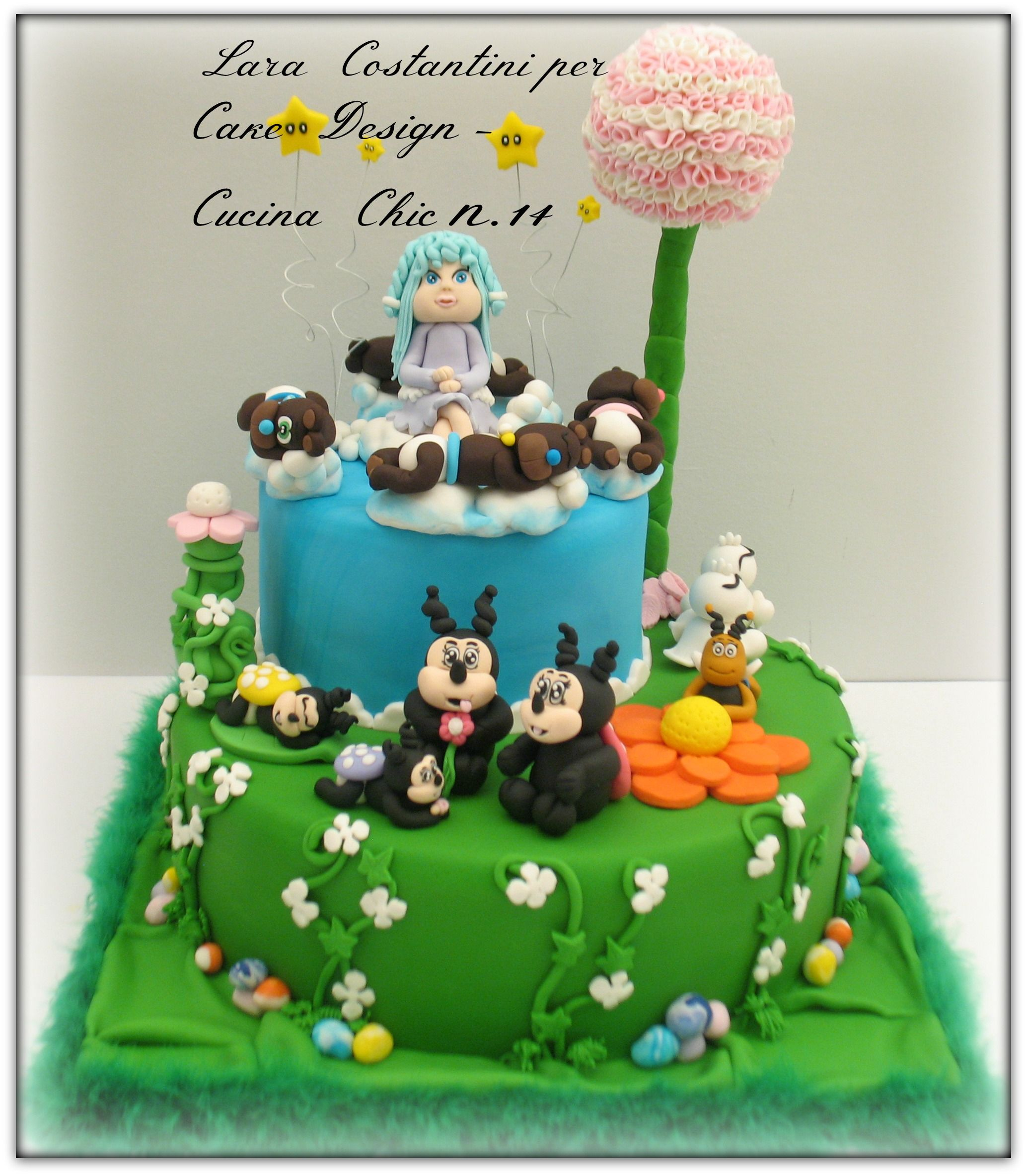 Progetto per Cake Design - Cucina Chic n. 14 | Lara Costantini Cake ...