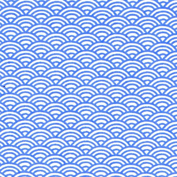 Papier japonais r f m472 geometric tattoo pinterest for Meuble japonais bleu