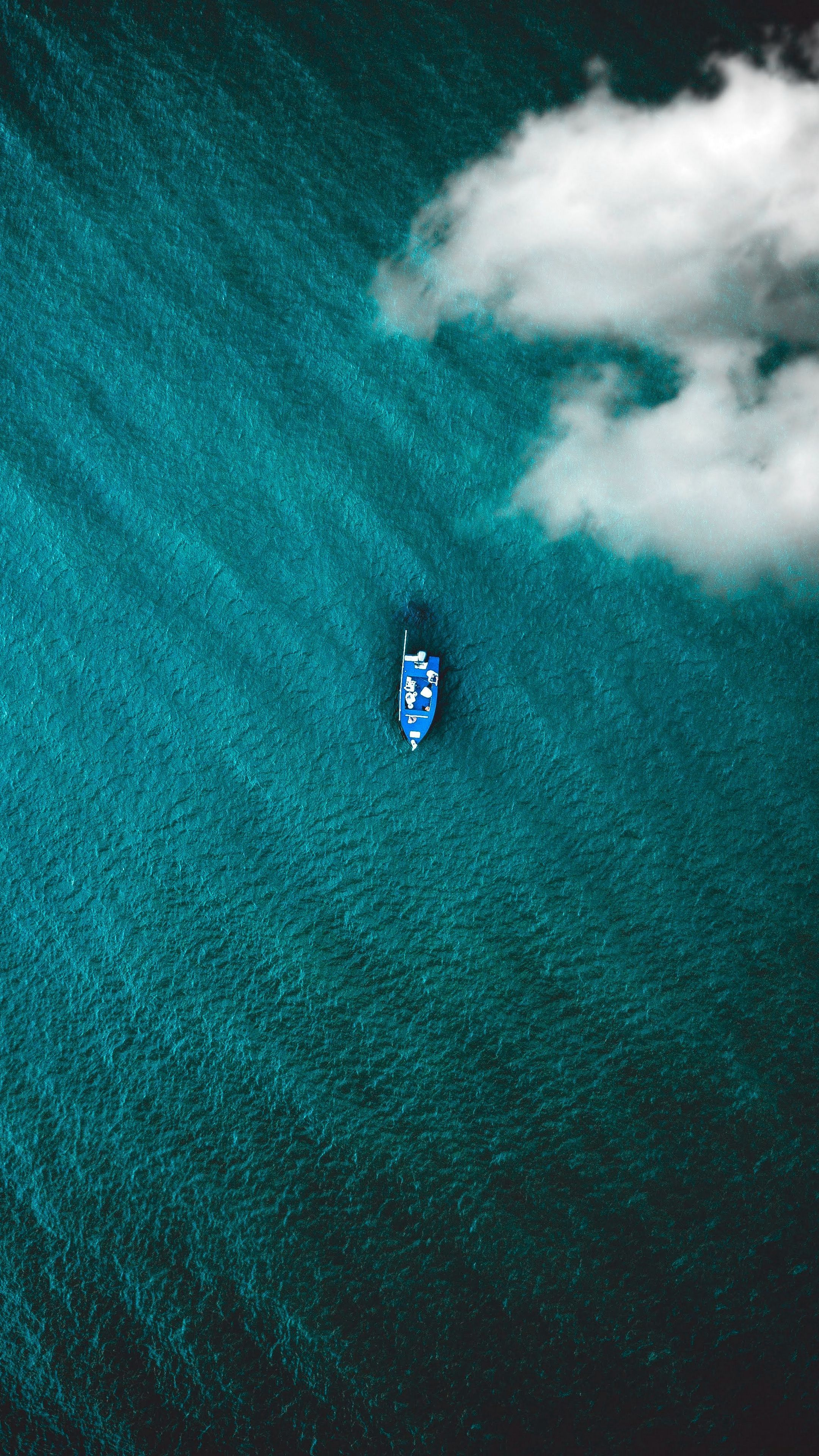 Nature Boat Sea Clouds Android Wallpapers 4k Hd Aerial Photography Drone Photography Lightroom Presets Wallpaper coast aerial view sea boat