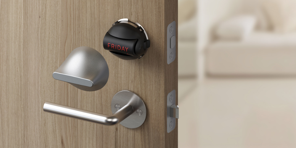 Big S Friday Smart Lock Is Its Smallest Ever Product Smart Lock Smart Deadbolt Deadbolt