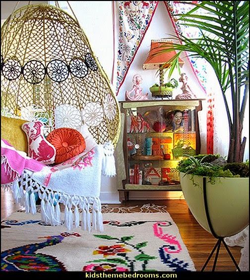 Gypsy Decorating Ideas Bohemian Style Boho Furnishings Theme