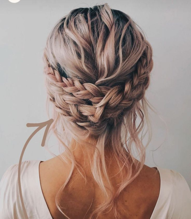 Loose Braid Upstyle For Bridesmaids In 2020 Hair Upstyles Bridal Hair Inspiration Hair Styles
