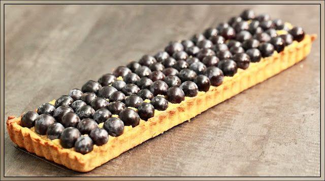 Tarte au raisin à la farine complète