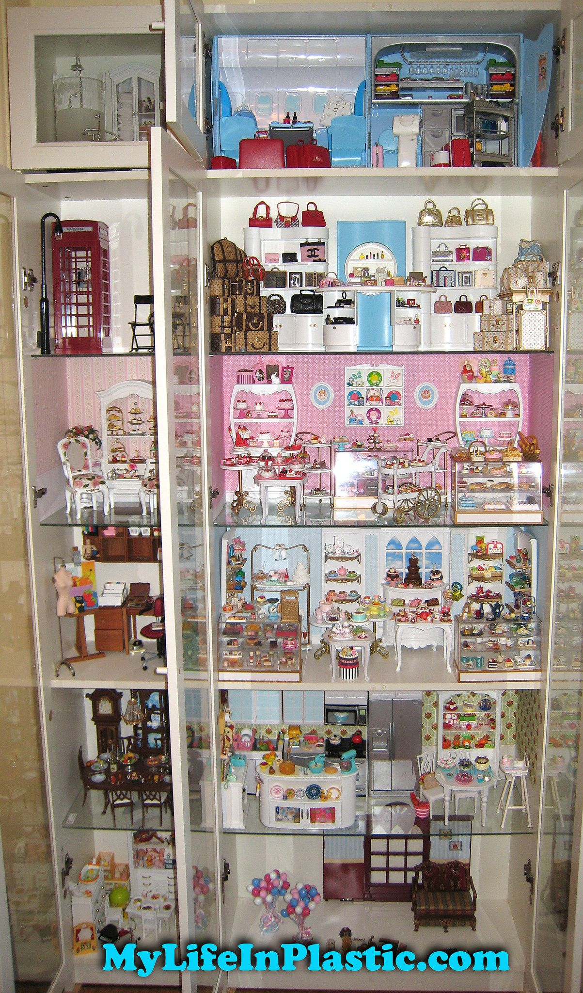 Mylifeinplastic Com Doll Diorama Cabinets Of Wonder Barbie Diorama Barbie Toys Barbie Doll House