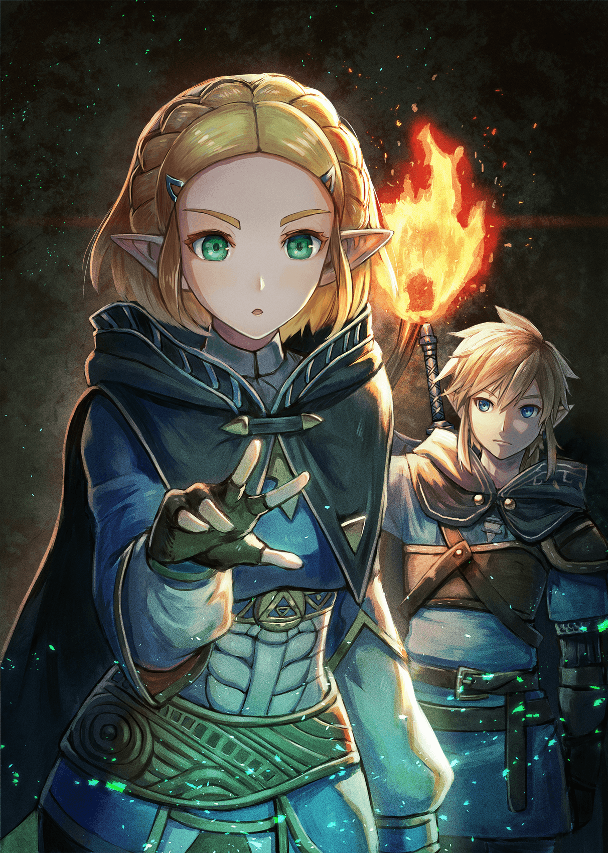 Legend Of Zelda Breath Of The Wild Sequel Art Princess Zelda And Link Exploring Botw 2 Legend Of Zelda Memes Legend Of Zelda Breath Zelda Art