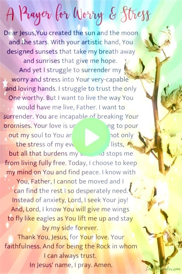 long for a wholeness that comes from the One who loves us and can do immeasurably more than anything we can do on our own Here are 10 Bible verses about worry and stress...