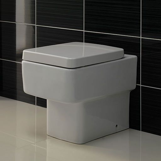 Back To Wall Toilets Square Style Victoria Plumb Uk Bathroom Back To Wall Toilets Toilet