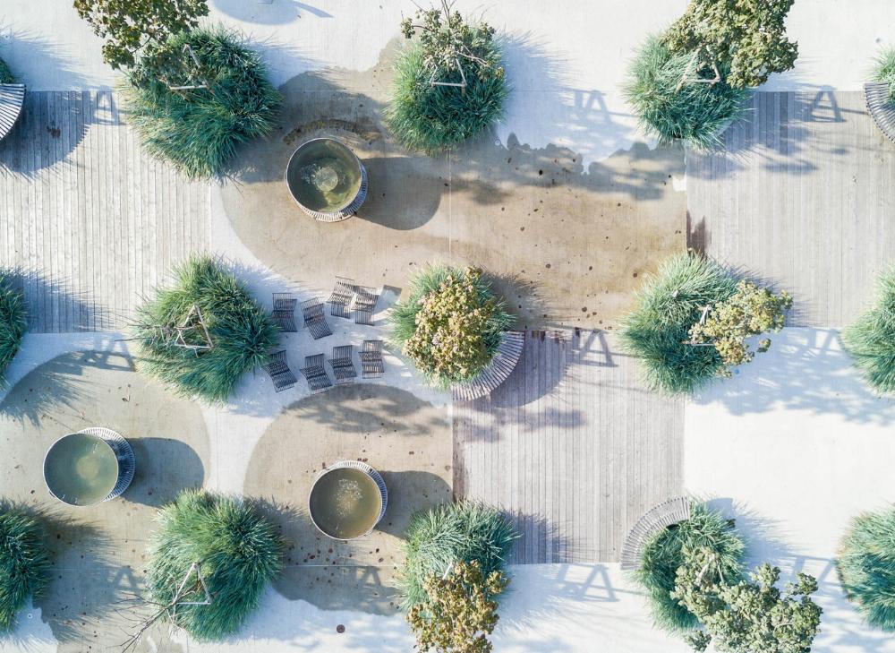 Gallery Of Ogmios City Public Space Do Architects 1 Landscape And Urbanism Public Space Landscape Design